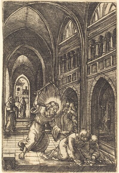 Albrecht Altdorfer, 'Christ Expelling the Money Changers', ca. 1519