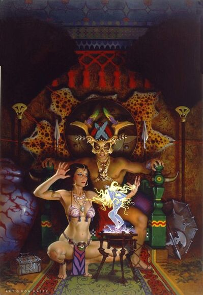Don Maitz, 'Oracle', 1988