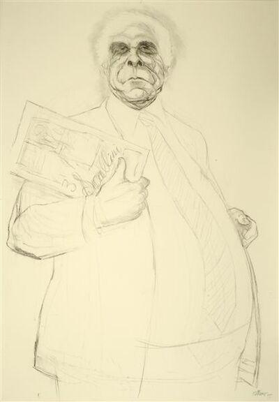 Pat Oliphant, 'The Big Man', 2012
