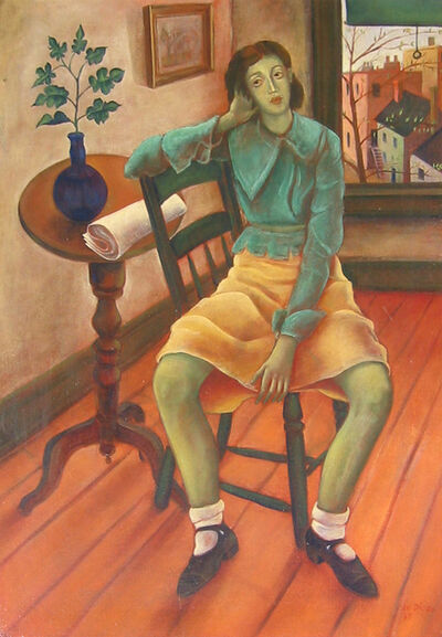 Julio De Diego, 'Girl in Interior', 1935