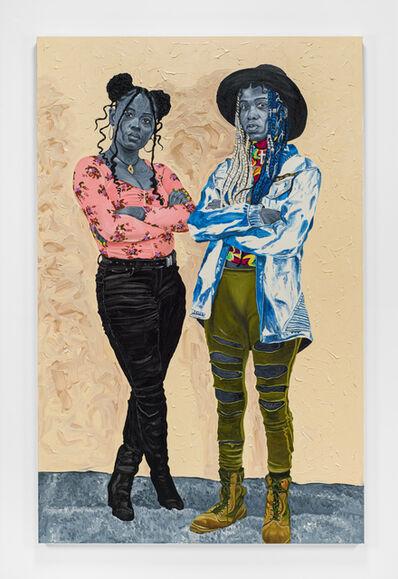 Otis Kwame Kye Quaicoe, 'Raiyasha & Rainyanni', 2021