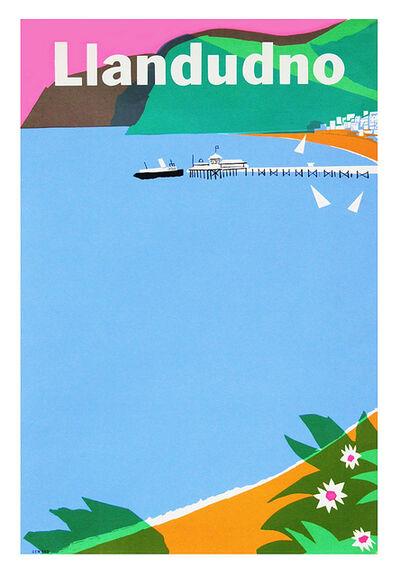 Harry Stevens, '1960s British Transport Llandudno Travel Poster ', ca. 1962