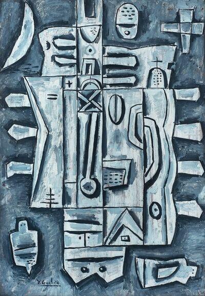 Héctor Goitiño, 'Composición gris'