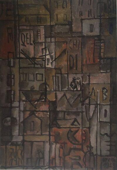 Manuel Otero, 'Estructura con elementos de ciudad ', 1959