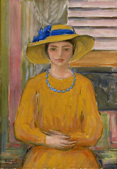 Henri Lebasque, 'Jeune fille en jaune', ca. 1915