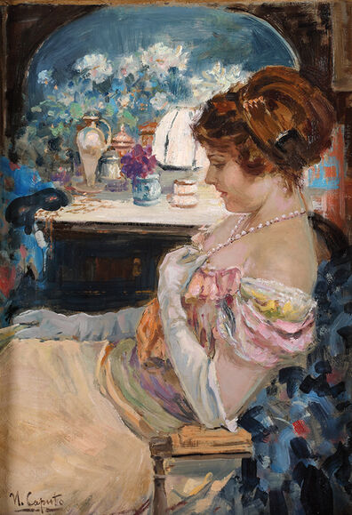 Ulisse Caputo, 'Figure in pink'