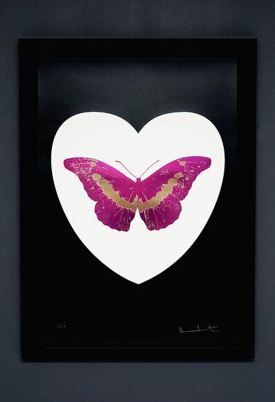 Damien Hirst, 'Butterfly, Fuchsia/White', 2015