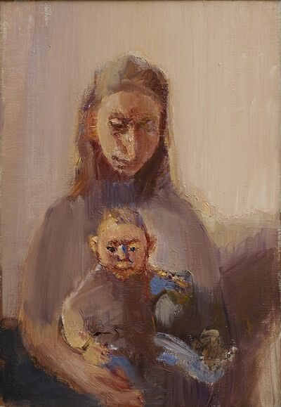 Celia Paul, 'Mother and Daughter', 1999