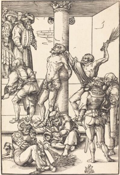 Lucas Cranach the Elder, 'The Flagellation', in or before 1509