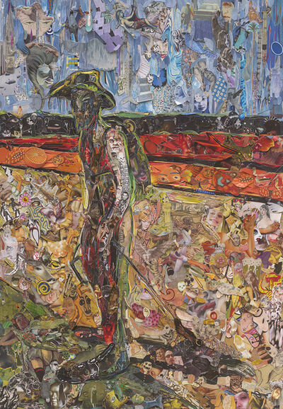 Vik Muniz, 'Repro: Study for a Portrait of Van Gogh IV, after Francis Bacon', 2016