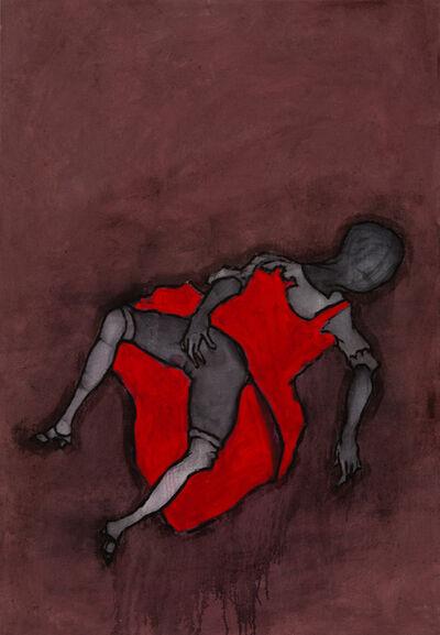 Mawande Ka Zenzile, 'Woman in Red Dress', 2016-2017