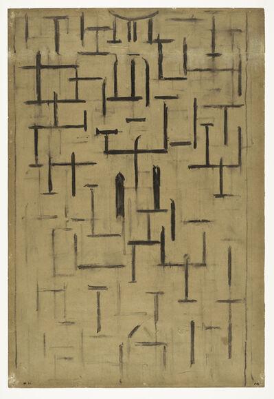 Piet Mondrian, 'Church Facade 5', 1914