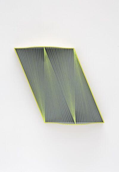 Julian Hoeber, 'Curtain Wall Vector Model— Fragment 02', 2016
