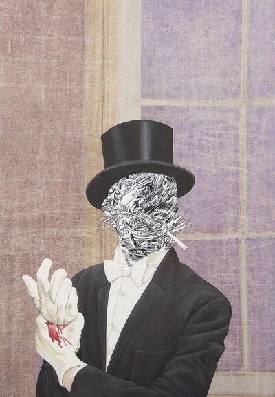 Jim Shaw, 'Man With Top Hat', 2015