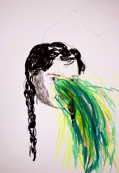 Hanna Ilczyszyn, 'Green Explosion', 2018