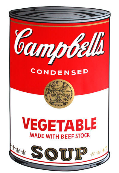 Andy Warhol, 'Campbell's Vegetable Made With Beef Stock Soup', 1968