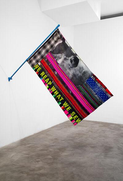 Gabriella Sanchez, 'WE REAP WHAT WE SEW (Past and Present Patterns)', 2020