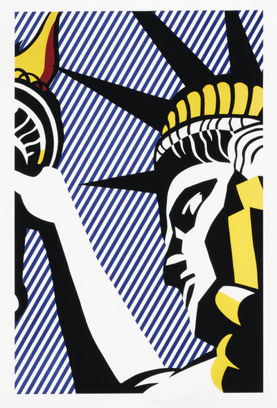 Roy Lichtenstein, 'I love Liberty ', 1982