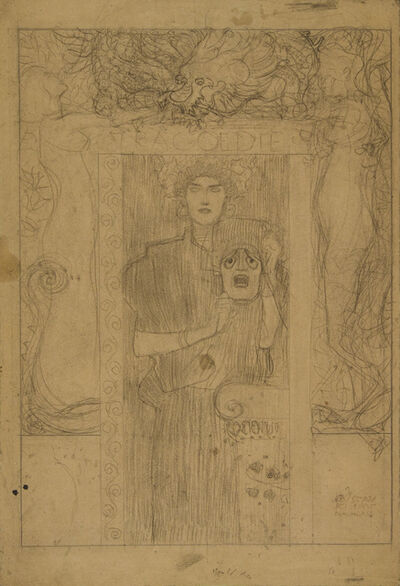 Gustav Klimt, 'Tragedy', 1897