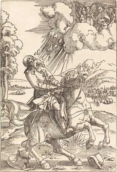 Hans Baldung, 'The Conversion of Saint Paul', 1508