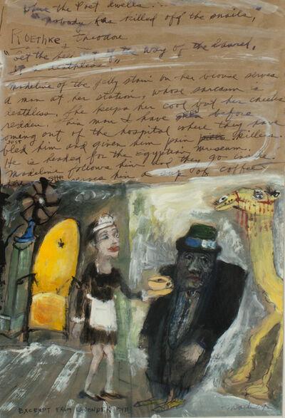 James Martin, 'Exceprt From Lavender Eye', 1992