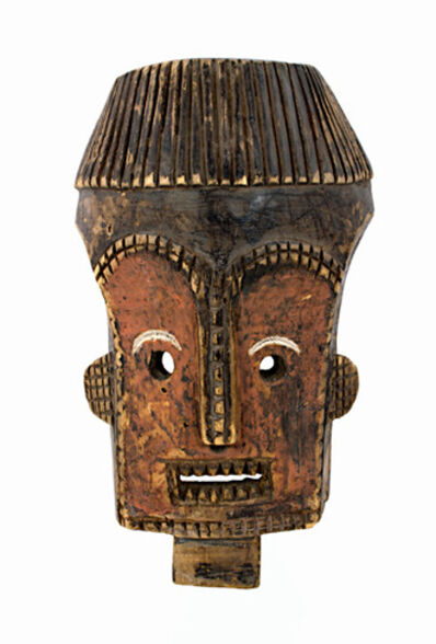 Unknown African, 'Secret Society Ceremonial Mask-Lualua, Congo', ca. 1930