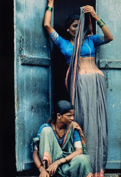 Herman Leonard, 'Bombay Prostitutes', 1970-printed later