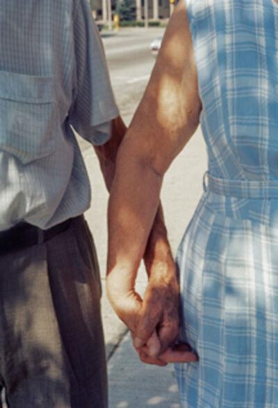 Vivian Maier, 'VM1972-75K05874-02-MC, Couple holding hands ', 1972