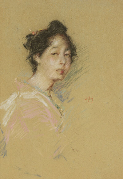 Robert Frederick Blum, 'Japanese Girl ', 1891-1892