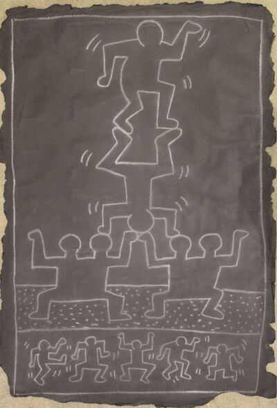 Keith Haring, 'Untitled (14th ST. Subway Drawing)', 1980-1985