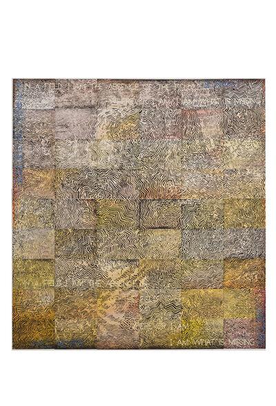 Imants Tillers, 'Metempsychosis of a Pintupi Man', 2015