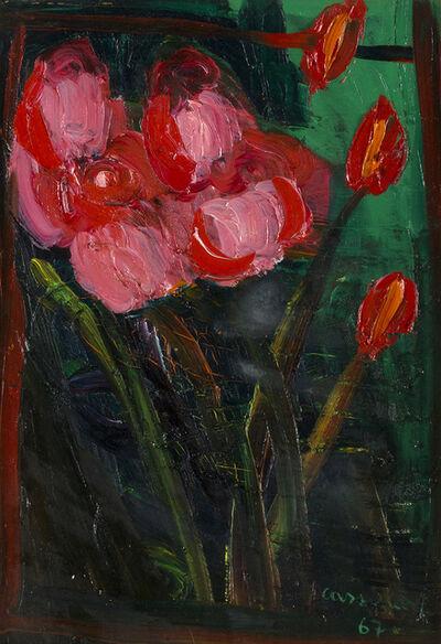 Bruno Cassinari, 'Vase of flowers', 1967