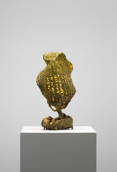 Nacho Carbonell, 'Yellow Light Bronze Mesh (117/2019)', 2019