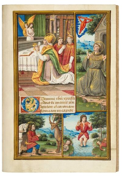 Jean Pichore, 'Book of Hours for Louis XII, use of Rennes', 1500-1515