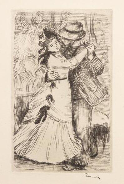 Pierre-Auguste Renoir, 'La Danse a la Campagne (Dance in the Country), 2e planche', 1890