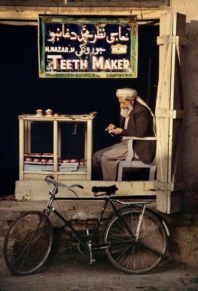 Steve McCurry, 'Teeth Maker in Kandahar, Afghanistan', 1998