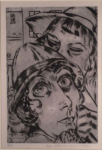 Max Ackermann, 'DIE SCHAUSPIELERIN HILDE KORBER', 1928