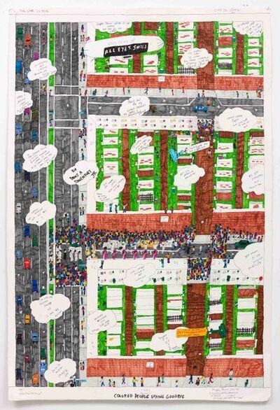Dapper Bruce Lafitte, 'T.D.B.C. Presents Colored People Saying Goodbye', 2017