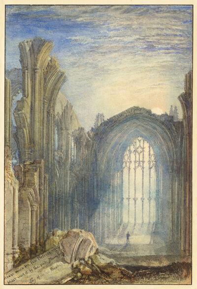 J. M. W. Turner, 'Melrose Abbey', 1822