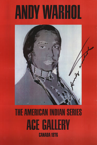 Andy Warhol, 'American Indian (Red)', 1977