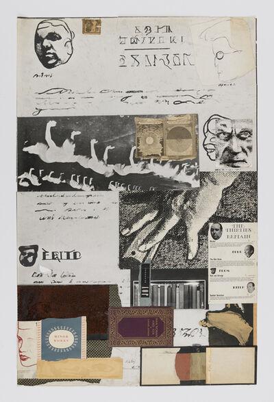 R. B. Kitaj, 'Addled Art Minor Works', 1975