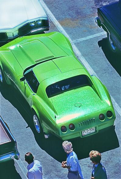 Mitchell Funk, 'Hot Green Car in Las Vegas (Frame 2)', 1975