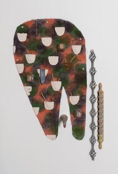 Juan Pablo Garza, 'Un hachazo invisible (Me sigo desangrando)', 2019