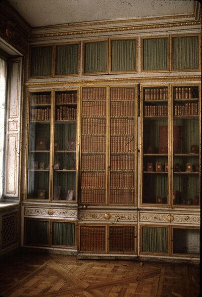 "Deborah Turbeville, 'Marie Antoinette's Library, from ""Unseen Versailles""', 1980"