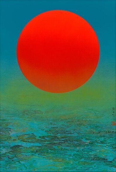 Liu Kuo-sung 刘国松, 'The Sunrise of East', 2015