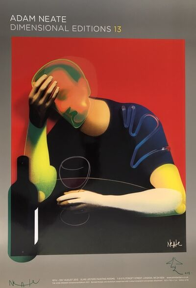 Adam Neate, 'The Wine Drinker - Signed Poster', 2013
