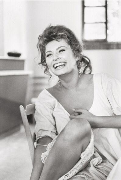 Alfred Eisenstaedt, 'Sophia Loren', 1961