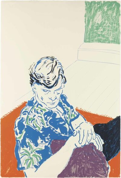 David Hockney, 'Joe with Green Window ', 1979