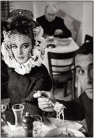 Frank Horvat, 'Rome, for Harper's Bazaar, High Fashion with Deborah Dixon A', 1962