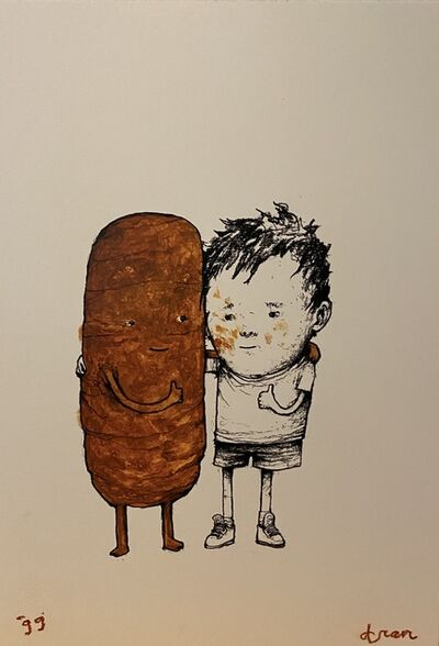 dran, 'With Friend', 2018